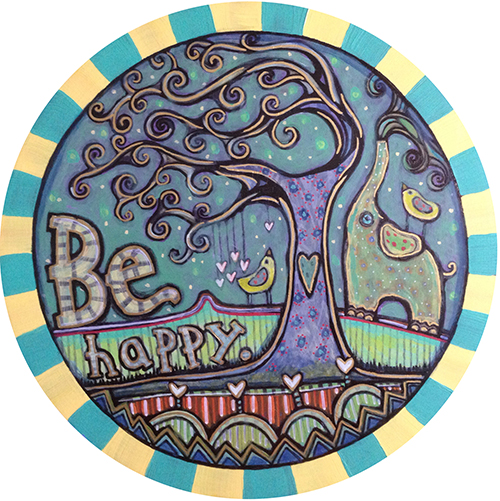 Be Happy Marley Coaster