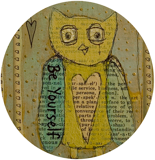 Be You Owl Coaster