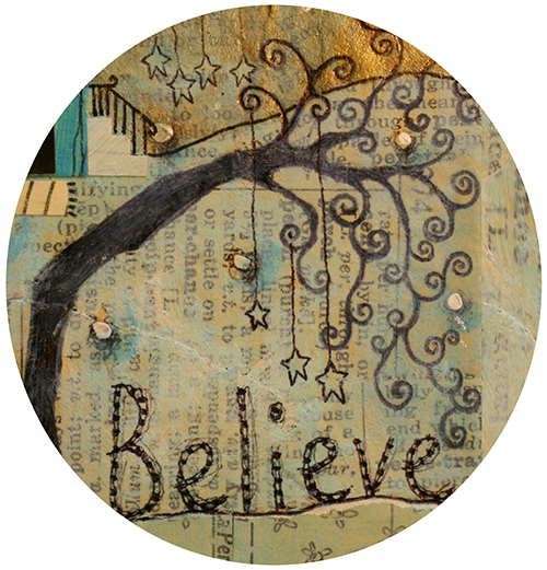 Believe Tipsy Tree Coaster