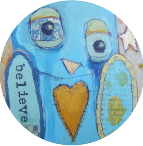 Blue Crier Coaster