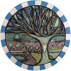 Blue Tree Coaster