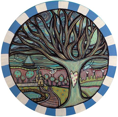 Blue Tree Coaster