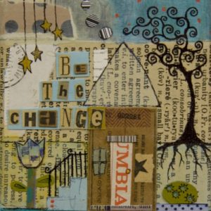 Change House Greeting Card