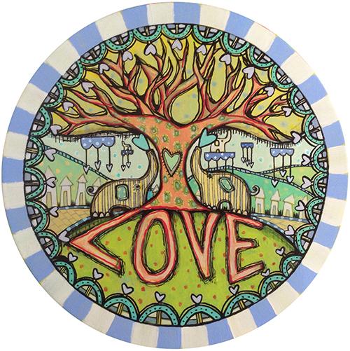 Eley Love Coaster