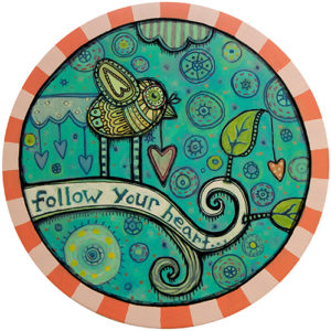 Follow Your Heart 2 Coaster