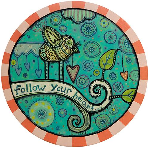 Follow Your Heart 2 Coaster