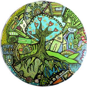 Green Ally Coaster