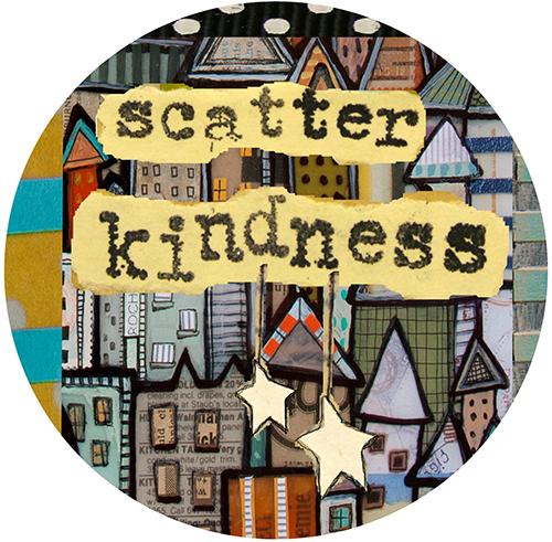 Scatter Kindness Coaster