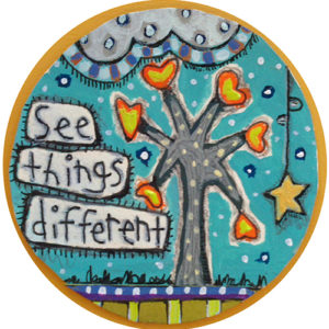 See Things Different Car Magnet