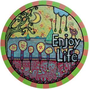 Summer Enjoy Life Coaster