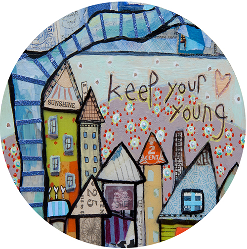 Young Heart Coaster